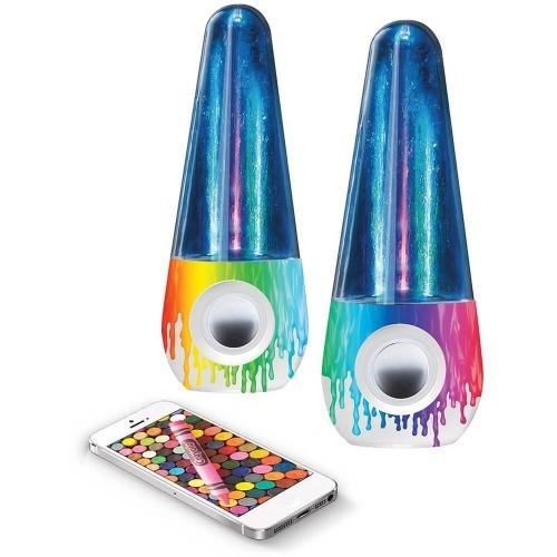 Crayola Bluetooth Колонки 'Танцующие фонтаны' Бишкек и Ош купить в магазине игрушек LEMUR.KG доставка по всему Кыргызстану