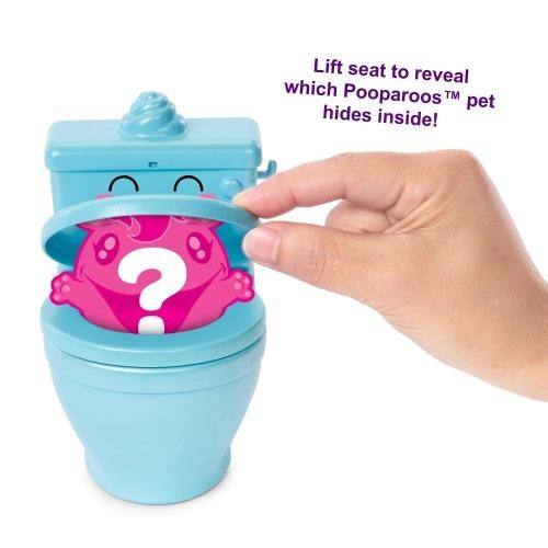Игрушка Pooparoos туалетная бумага - сюрприз Бишкек и Ош купить в магазине игрушек LEMUR.KG доставка по всему Кыргызстану