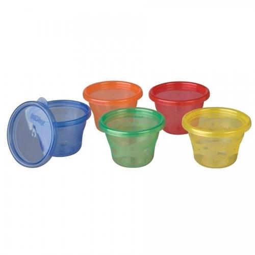 NUBY Чашки-стаканы с крышкой для заморозки, 6 шт. Бишкек и Ош купить в магазине игрушек LEMUR.KG доставка по всему Кыргызстану