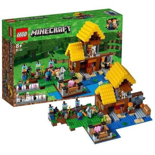 LEGO: Майнкрафт Фермерский коттедж Бишкек и Ош купить в магазине игрушек LEMUR.KG доставка по всему Кыргызстану