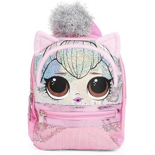 Фирменный рюкзак LOL Surprise - Розовый Бишкек и Ош купить в магазине игрушек LEMUR.KG доставка по всему Кыргызстану