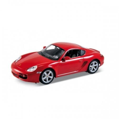 Welly модель машины 1:18 Porsche Cayman S Бишкек и Ош купить в магазине игрушек LEMUR.KG доставка по всему Кыргызстану