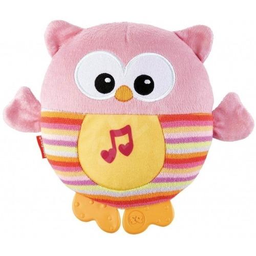 Музыкальный ночник 'Розовая Сова' Бишкек и Ош купить в магазине игрушек LEMUR.KG доставка по всему Кыргызстану