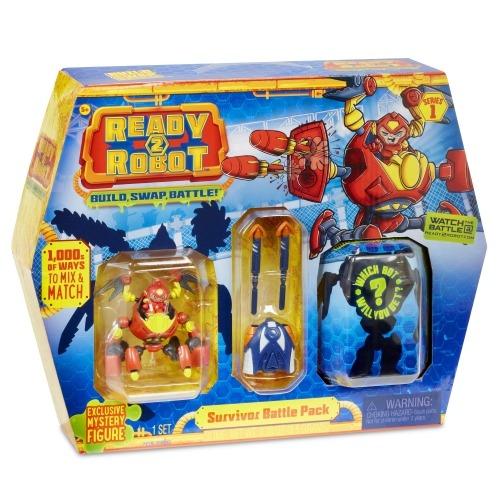 Боевой набор - Выживший Ready2Robot (оригинал) Бишкек и Ош купить в магазине игрушек LEMUR.KG доставка по всему Кыргызстану