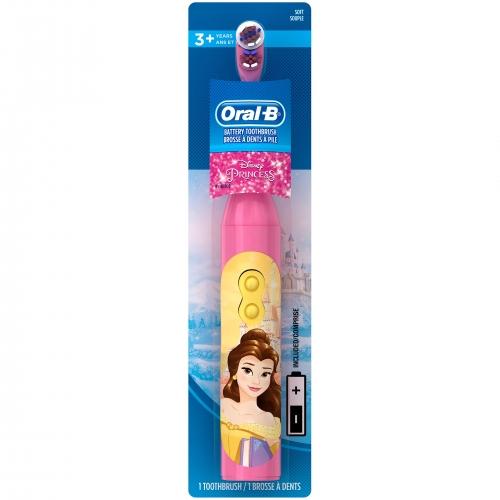 Детская электрическая зубная щетка Oral-B 'Принцессы Диснея' Бишкек и Ош купить в магазине игрушек LEMUR.KG доставка по всему Кыргызстану