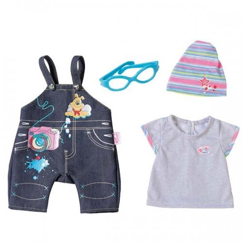 Baby Born Одежда Джинсовая 2 вида Бишкек и Ош купить в магазине игрушек LEMUR.KG доставка по всему Кыргызстану