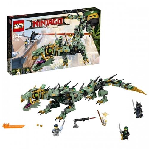 LEGO: Механический Дракон Зелёного Ниндзя Бишкек и Ош купить в магазине игрушек LEMUR.KG доставка по всему Кыргызстану
