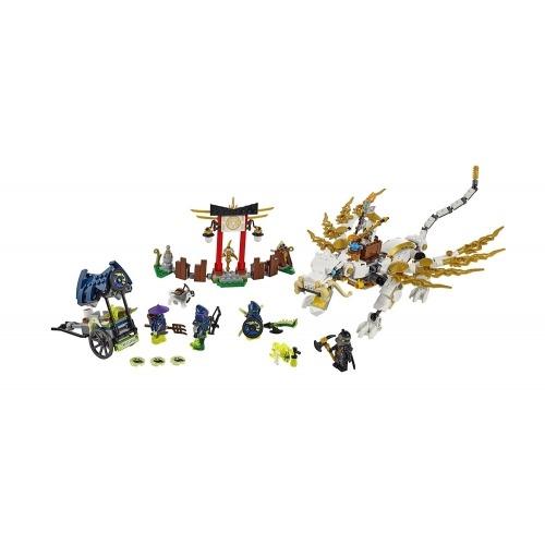 LEGO: Дракон Сэнсэя Ву Бишкек и Ош купить в магазине игрушек LEMUR.KG доставка по всему Кыргызстану