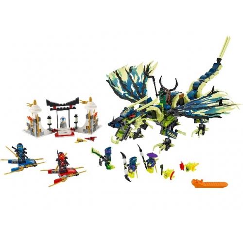LEGO: Атака Дракона Морро Бишкек и Ош купить в магазине игрушек LEMUR.KG доставка по всему Кыргызстану