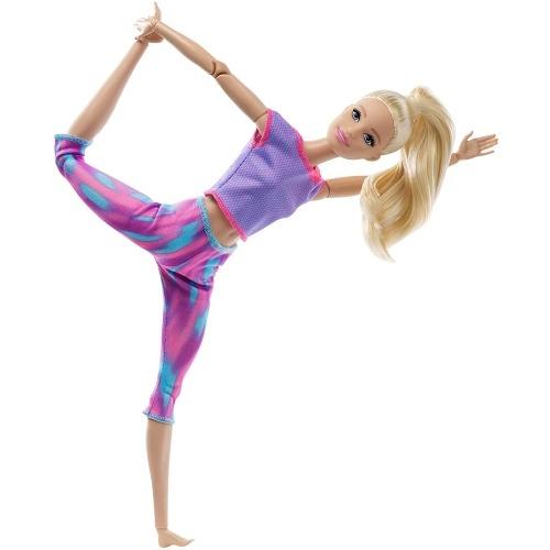 Кукла Барби 'Безграничные движения' блондинка (новинка) Бишкек и Ош купить в магазине игрушек LEMUR.KG доставка по всему Кыргызстану