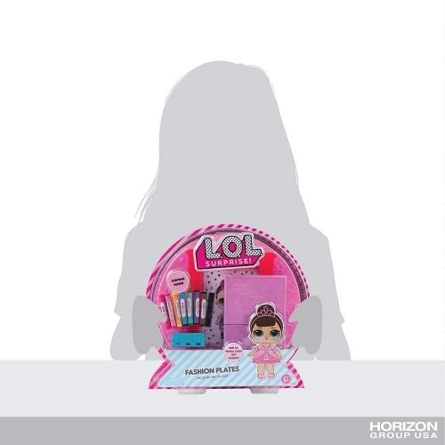 LOL Surprise Набор для рисования с трафаретами (оригинал) Бишкек и Ош купить в магазине игрушек LEMUR.KG доставка по всему Кыргызстану