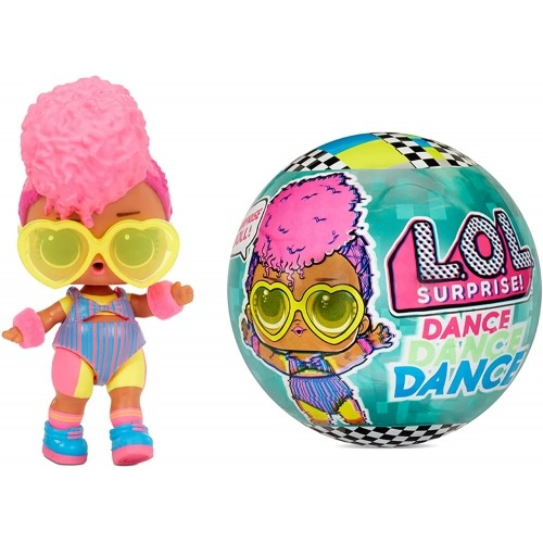 Кукла L.O.L. Surprise! Dance Dance Dance 8 сюрпризов Бишкек и Ош купить в магазине игрушек LEMUR.KG доставка по всему Кыргызстану