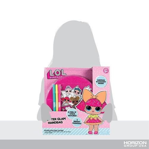 LOL Surprise сумка для декорирования (оригинал) Бишкек и Ош купить в магазине игрушек LEMUR.KG доставка по всему Кыргызстану