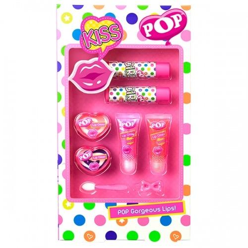 Набор детской косметики 'POP' косметики для губ Бишкек и Ош купить в магазине игрушек LEMUR.KG доставка по всему Кыргызстану