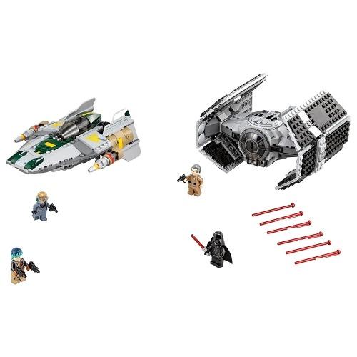 LEGO: истребитель TIE Дарта Вейдера против A-Wing Бишкек и Ош купить в магазине игрушек LEMUR.KG доставка по всему Кыргызстану