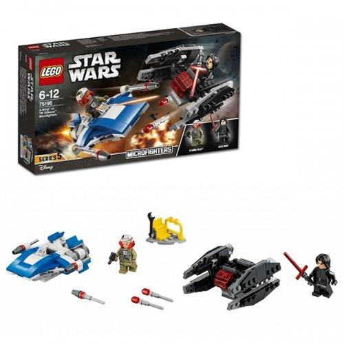 LEGO: Истребитель типа A против бесшумного истребителя СИД Бишкек и Ош купить в магазине игрушек LEMUR.KG доставка по всему Кыргызстану