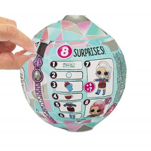 L.O.L. Surprise! блестящий шар из серии 'Зимнее Диско' Бишкек и Ош купить в магазине игрушек LEMUR.KG доставка по всему Кыргызстану