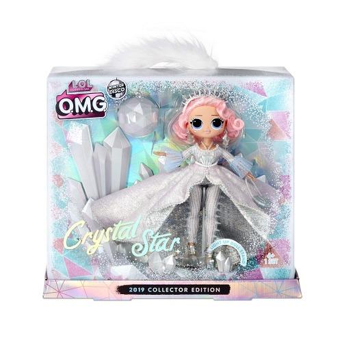 L.O.L. Surprise! Коллекционная Фешн кукла 'Кристальная звезда' Бишкек и Ош купить в магазине игрушек LEMUR.KG доставка по всему Кыргызстану