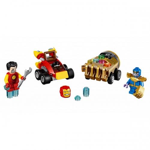 LEGO: Mighty Micros: Железный человек против Таноса Бишкек и Ош купить в магазине игрушек LEMUR.KG доставка по всему Кыргызстану
