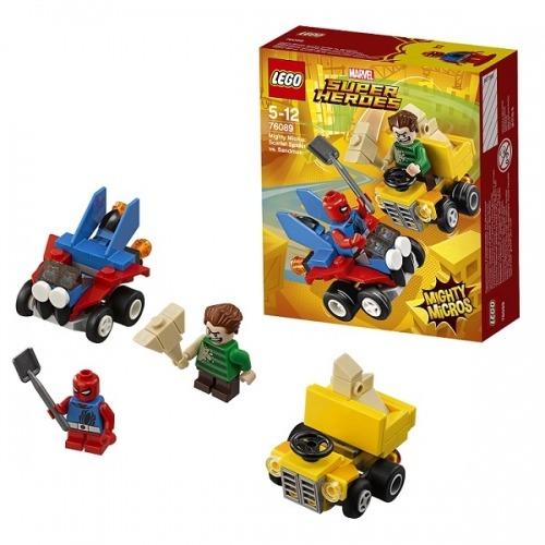 LEGO: Человек-паук против Песочного человека Бишкек и Ош купить в магазине игрушек LEMUR.KG доставка по всему Кыргызстану