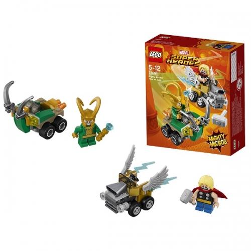 LEGO: Тор против Локи Бишкек и Ош купить в магазине игрушек LEMUR.KG доставка по всему Кыргызстану