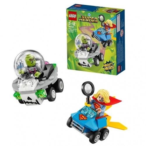 LEGO: Супергёрл против Брейниака Бишкек и Ош купить в магазине игрушек LEMUR.KG доставка по всему Кыргызстану