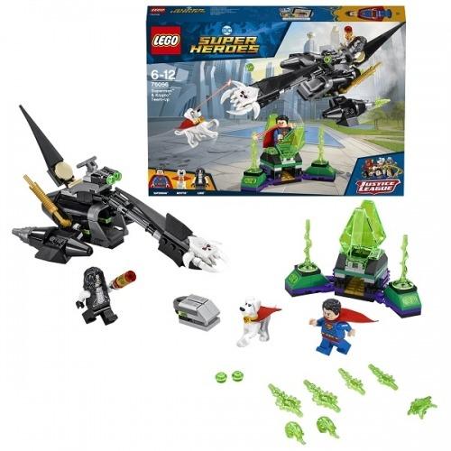 LEGO: Супермен и Крипто объединяют усилия Бишкек и Ош купить в магазине игрушек LEMUR.KG доставка по всему Кыргызстану