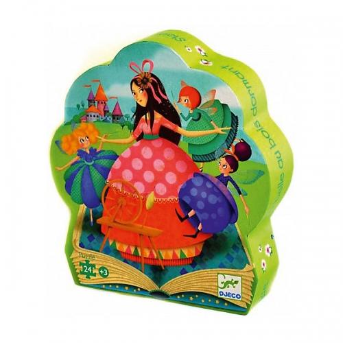 Djeco Пазл для малышей Спящая красавица Бишкек и Ош купить в магазине игрушек LEMUR.KG доставка по всему Кыргызстану