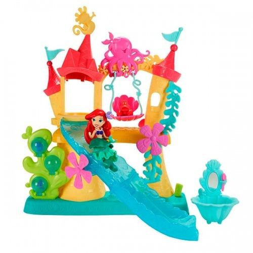 Принцессы Дисней Замок Ариель для игры с водой Бишкек и Ош купить в магазине игрушек LEMUR.KG доставка по всему Кыргызстану