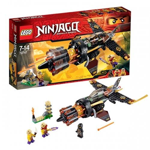 LEGO: Скорострельный истребитель Коула Бишкек и Ош купить в магазине игрушек LEMUR.KG доставка по всему Кыргызстану