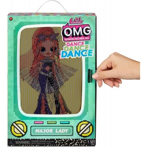 Кукла L.O.L. Surprise! OMG Dance Dance Dance Major Lady Бишкек и Ош купить в магазине игрушек LEMUR.KG доставка по всему Кыргызстану