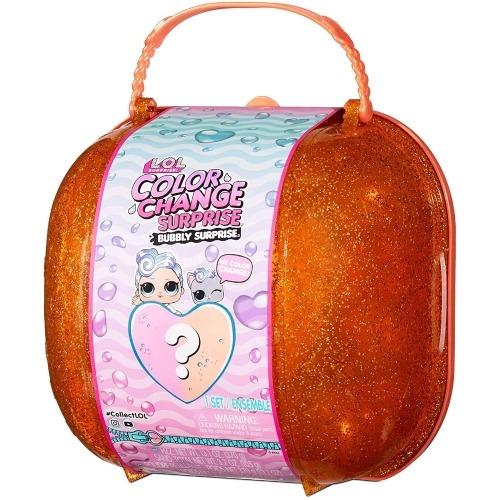 Набор L.O.L. Surprise!Color Change Bubbly (оранжевый) Бишкек и Ош купить в магазине игрушек LEMUR.KG доставка по всему Кыргызстану
