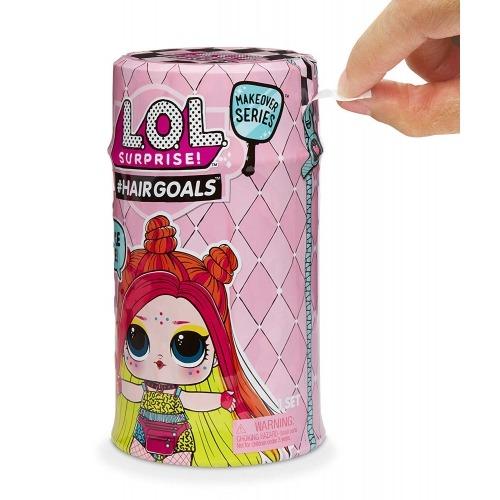 Кукла LOL Surprise Капсула Hairgoals 5 серия - 2 волна (оригинал) Бишкек и Ош купить в магазине игрушек LEMUR.KG доставка по всему Кыргызстану