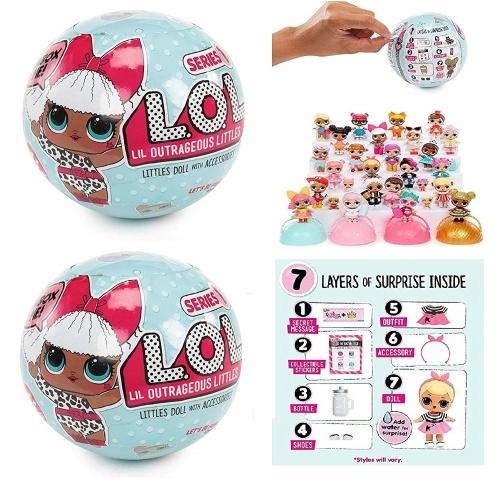 Кукла LOL Surprise 1 сезон (оригинал) Бишкек и Ош купить в магазине игрушек LEMUR.KG доставка по всему Кыргызстану