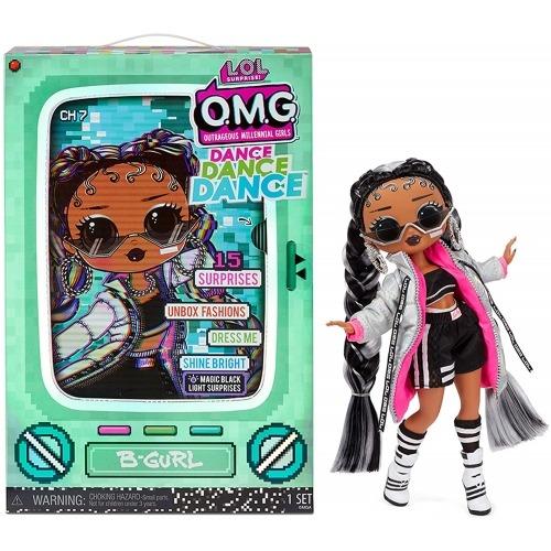 Кукла L.O.L. Surprise! OMG Dance Dance Dance B-Gurl Бишкек и Ош купить в магазине игрушек LEMUR.KG доставка по всему Кыргызстану