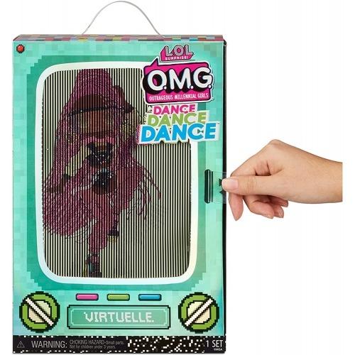 Кукла L.O.L. Surprise! OMG Dance Dance Dance Virtuelle Бишкек и Ош купить в магазине игрушек LEMUR.KG доставка по всему Кыргызстану