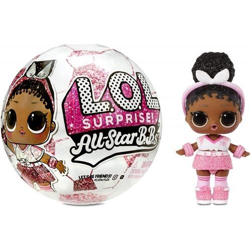 Кукла L.O.L. Surprise! Блестящая из бейсбольной команды 3 серия Бишкек и Ош купить в магазине игрушек LEMUR.KG доставка по всему Кыргызстану