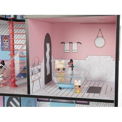 Огромный набор LOL Surprise дом + машина (оригинал) Бишкек и Ош купить в магазине игрушек LEMUR.KG доставка по всему Кыргызстану