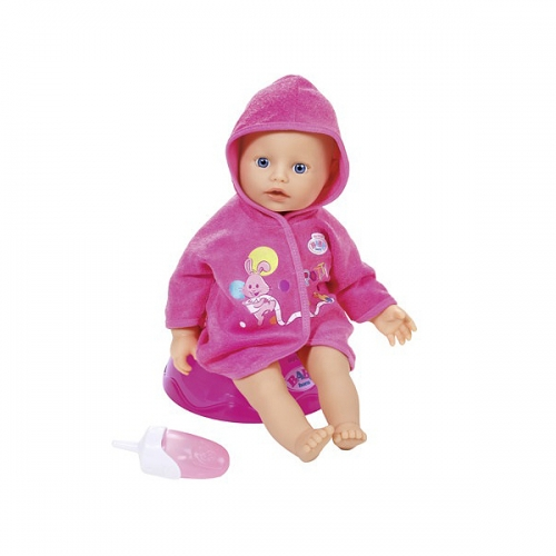 Baby Born Кукла быстросохнущая с горшком, 32 см Бишкек и Ош купить в магазине игрушек LEMUR.KG доставка по всему Кыргызстану