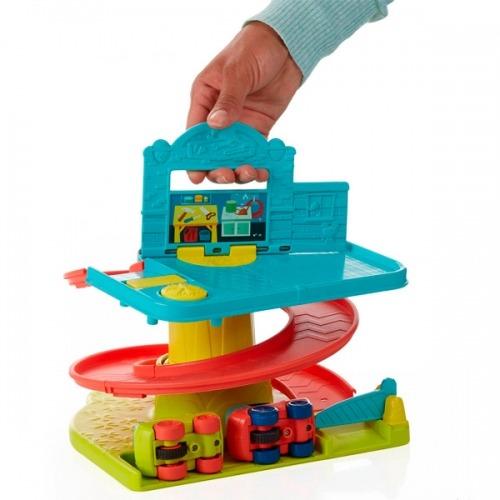 Игровой набор Playskool 'Веселый Гараж возьми с собой' Бишкек и Ош купить в магазине игрушек LEMUR.KG доставка по всему Кыргызстану
