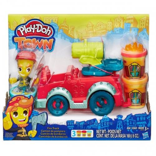 """Набор Play-Doh Город """"Пожарная машина"""""""