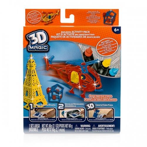 Большой набор 3D Magic для мальчиков Бишкек и Ош купить в магазине игрушек LEMUR.KG доставка по всему Кыргызстану