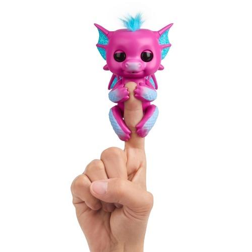 Fingerlings Интерактивный дракончик Сенди (красный) Бишкек и Ош купить в магазине игрушек LEMUR.KG доставка по всему Кыргызстану