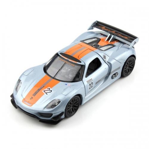 Welly модель машины 1:34-39 Porsche 918 RSR Бишкек и Ош купить в магазине игрушек LEMUR.KG доставка по всему Кыргызстану
