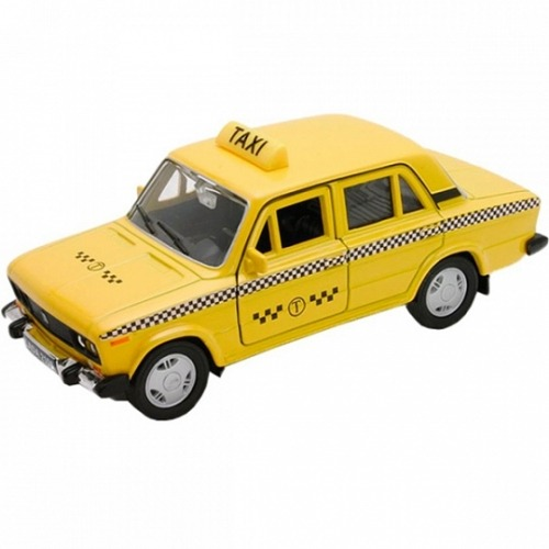 Welly модель машины 1:34-39 Lada 2107 Такси Бишкек и Ош купить в магазине игрушек LEMUR.KG доставка по всему Кыргызстану
