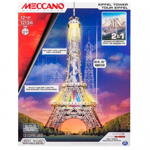 Игрушка Meccano Эйфелева башня (2 модели) Бишкек и Ош купить в магазине игрушек LEMUR.KG доставка по всему Кыргызстану