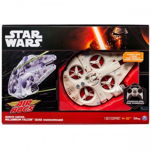 Air Hogs Star Wars Сокол тысячелетия Бишкек и Ош купить в магазине игрушек LEMUR.KG доставка по всему Кыргызстану
