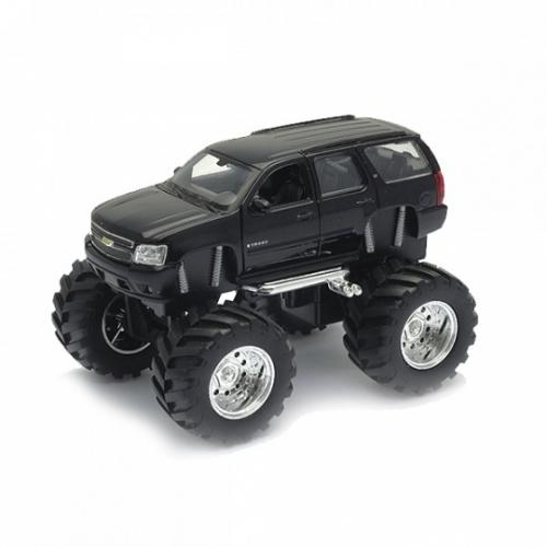 Welly модель машины 1:34-39 Chevrolet Tahoe Big Wheel Бишкек и Ош купить в магазине игрушек LEMUR.KG доставка по всему Кыргызстану