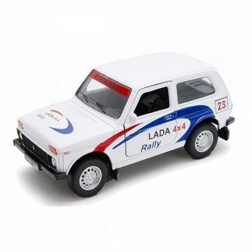 Welly модель машины 1:34-39 Lada 4x4 Rally Бишкек и Ош купить в магазине игрушек LEMUR.KG доставка по всему Кыргызстану