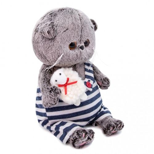 Мягкая игрушка Басик Baby с овечкой Бишкек и Ош купить в магазине игрушек LEMUR.KG доставка по всему Кыргызстану